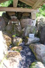 羅臼神社湧水