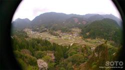 岩屋神社(見晴岩からの眺め)