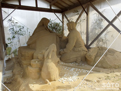 白兎神社(砂像)