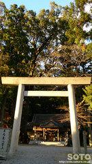 水屋神社の鳥居