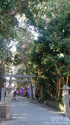 神明神社(参道)