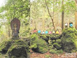 岩屋神社(立会地蔵と不動明王)