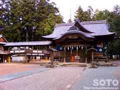 大川上美良布神社(1)