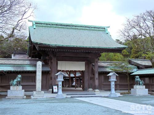 宗像大社(神門)