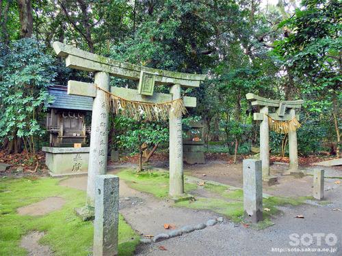 宗像大社(松尾神社と蛭子神社)
