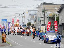 鴛泊のお祭り