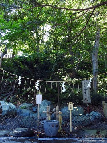 千歳神社(幸井の水)