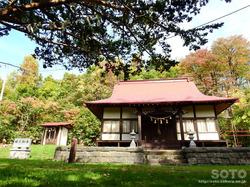 洞爺湖一周(洞爺八幡神社)