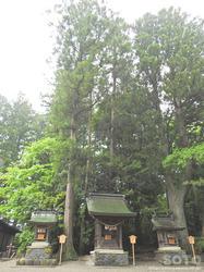 雄山神社 前立社壇(3)