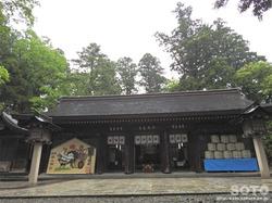 雄山神社 前立社壇(5)