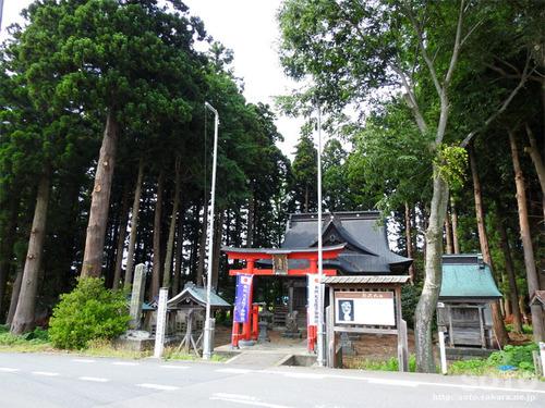 杉沢熊野神社(1)