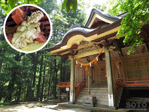 奈曽の白滝(金峰神社)