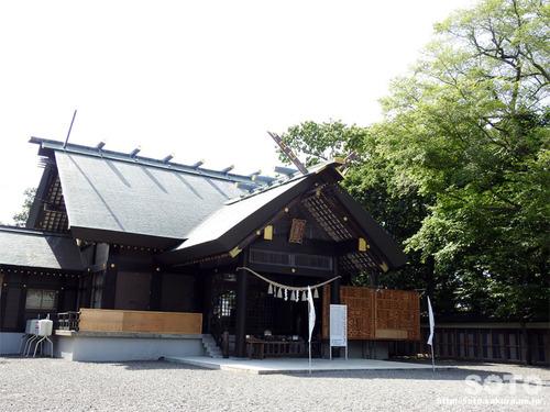 千歳神社(拝殿)