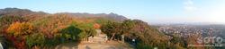 出雲大社(奉納山からのパノラマ)