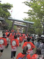 北門神社 例大祭(19)