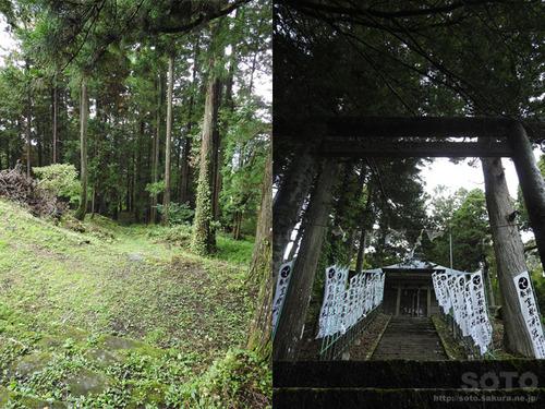 室根山(室根神社 参道)