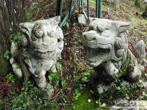 室根山(室根神社 狛犬)