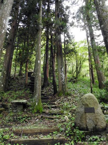 室根山(室根神社から山頂へ)