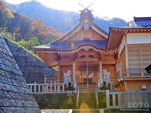 八ッ場(川原湯神社 社殿)