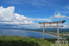 夷王山神社(鳥居)
