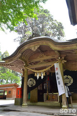 草部吉見神社(拝殿)