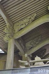 草部吉見神社(彫刻)