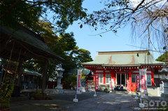 日和山公園(鹿島御児神社)