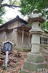 雄島・大湊神社の春日燈籠