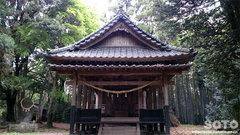 原菅原神社(拝殿)