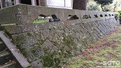 原菅原神社(石垣)