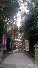 神明神社(鳥居)