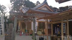 神明神社(拝殿)