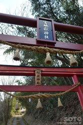 宮地嶽神社(鳥居)