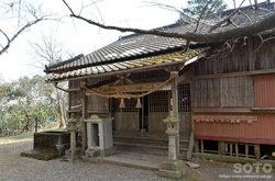 宮地嶽神社(拝殿)