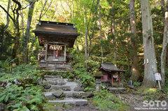 十和田神社(熊野社と稲荷社)