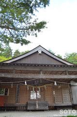 剣山神社(拝殿)