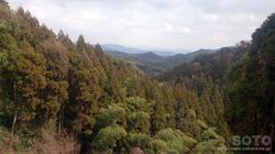 大津山頂駐車場からの眺め