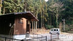 岩戸神社(駐車場)