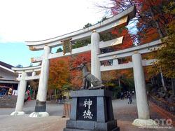 三峯神社(鳥居)