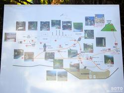 三峯神社(境内案内図)
