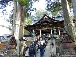 三峯神社(拝殿)