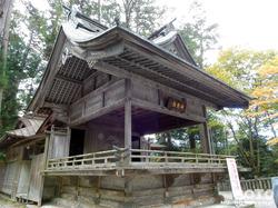 三峯神社(神楽殿)