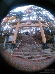 三峯神社(遠宮の鳥居)