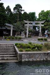 針江生水の里(神社1)