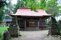 鬼越蒼前神社(拝殿)
