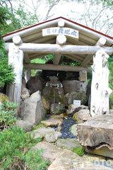 羅臼神社の湧水