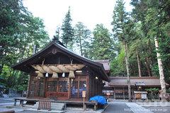 諏訪大社(春宮 神楽殿)