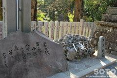 筑波山神社(さざれ石)