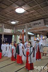 水屋神社(秋季例大祭7)