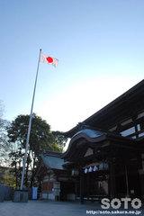 椿神社(拝殿2)